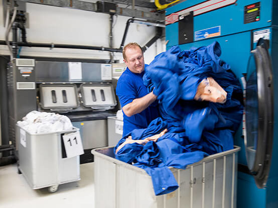 bedrijfskleding laten wassen
